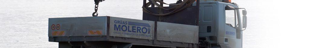Transportes palas molinos eólicos