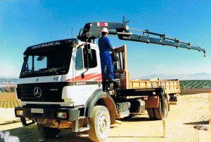 Camión Pluma - Grúas Molero