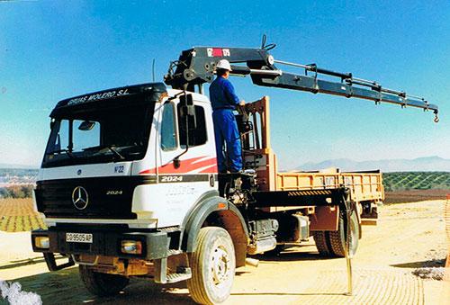 Camión Grúa de 18TN