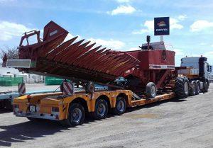 Transportes de transformadores - Grúas Molero