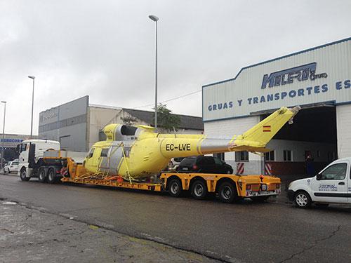 Helicópteros y componentes aeronáuticos