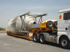 Transporte de empresas - Grúas Molero