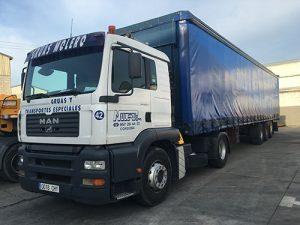 Empresa transportadora - Grúas Molero
