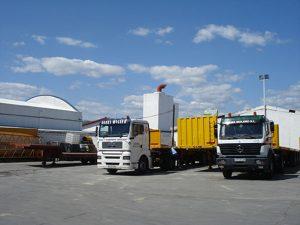 Transporte de maquinaria pesada - Grúas Molero