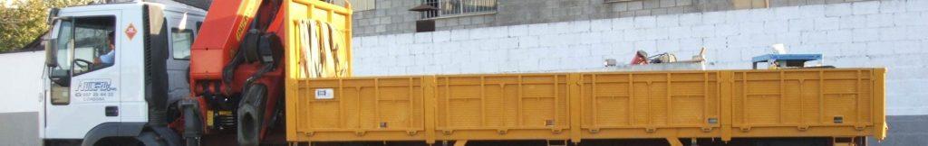 Góndolas para transportes especiales