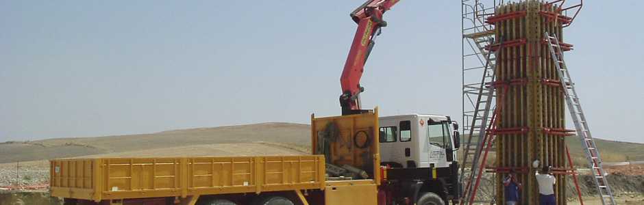 Camiones pluma Córdoba