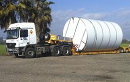 Empresa de transporte nacional - Grúas Molero
