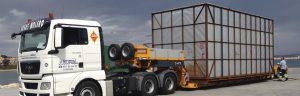 Transporte de carga - Grúas Molero