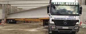 Logística de transporte - Grúas Molero