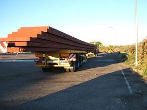 Transporte Vigas Homigon - Grúas Molero